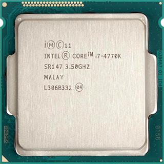 INTEL CORE I7 4770K (8 MB ქეშ მეხსიერება, 3.5 GHZ - 3.9 GHZ) BOX