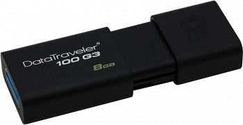 KINGSTON DT100G3/8GBCL 8 GB