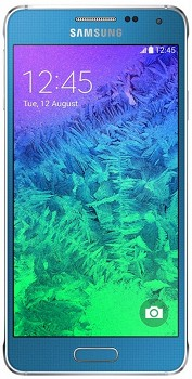 SAMSUNG GALAXY ALPHA (SM-G850F) 32GB BLUE