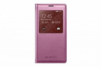 SAMSUNG GALAXY S5 S VIEW COVER PINK (EF-CG900BPEGRU)