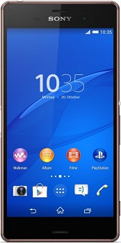 SONY XPERIA Z3 (D6683) 16GB BROWN