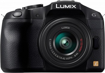 PANASONIC LUMIX DMC-G6 BLACK KIT 14-42MM (DMC-G6KEE-K)