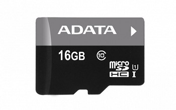 A-DATA PREMIER MICROSDHC UHS-I 16 GB CLASS 10 + SD ADAPTER