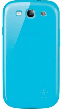 BELKIN GRIP SHEER CASE FOR SAMSUNG GALAXY S3 I9300 BLUE (F8M398CWC03)