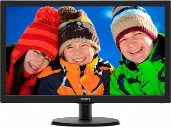 PHILIPS 223V5LSB 21.5'' BLACK