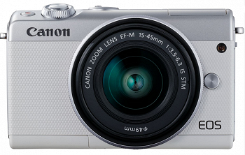 CANON EOS M100 15-45 IS STM WHITE
