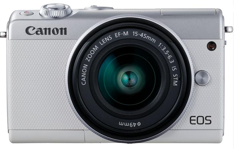 ფოტოაპარატი CANON EOS M100 15-45MM IS STM WHITE