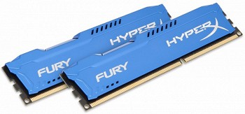 KINGSTON HYPERX FURY 8GB (2 x 4GB) DDR3 1866MHZ (HX318C10FK2/8)