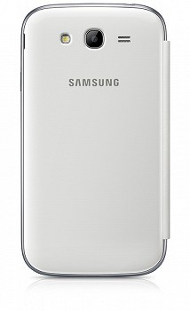 SAMSUNG GALAXY GRAND DUOS FLIP COVER WHITE
