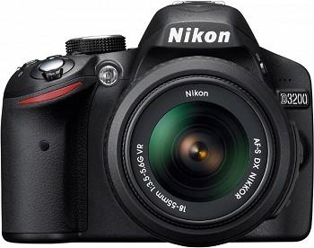 NIKON D3200 18-55 KIT BLACK