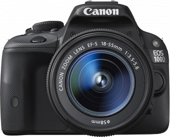 CANON EOS 100D BLACK + EF-S KIT 18-55