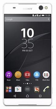 SONY XPERIA C5 ULTRA DUAL (E5533) 16GB WHITE