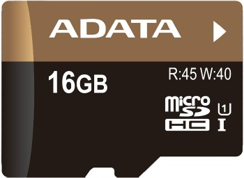 A-DATA PREMIER PRO MICROSDHC UHS-I 16 GB CLASS 10 + SD ADAPTER