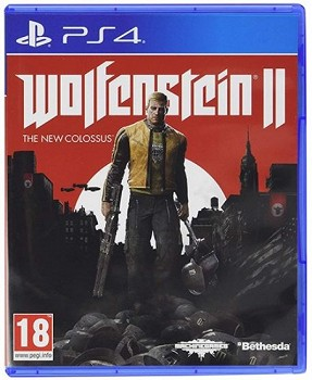 კონსოლის თამაში WOLFENSTEIN 2 THE NEW COLOSSUS (PLAYSTATION4)