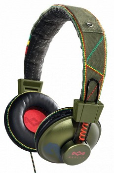 HOUSE OF MARLEY POSITIVE VIBRATION ON-EAR EM-JH010-RT