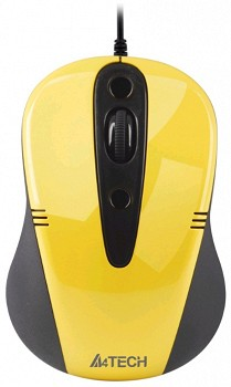 A4TTECH N 370FX 2 USB YELLOW