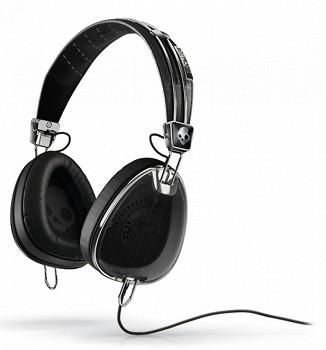 SKULLCANDY AVIATOR Black W/MIC3 (S6AVFM-156)