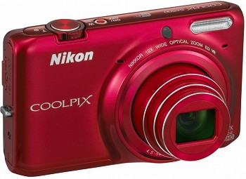 NIKON COOLPIX S6500 RED