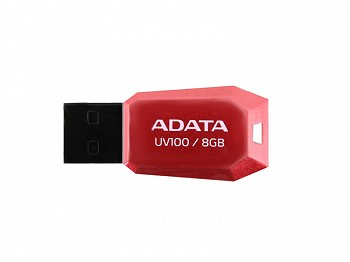ADATA CLASSIC UV100 8GB RED USB 2.0 (AUV100-8G-RRD)