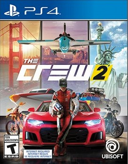 კონსოლის თამაში THE CREW 2 (PLAYSTATION4)