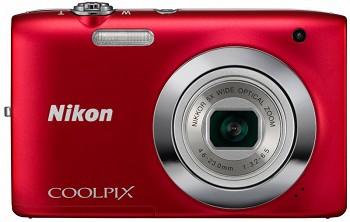 NIKON COOLPIX S2600 RED (VMA962E1)