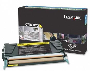 LEXMARK C748 C748H1YG YELLOW