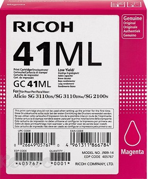 RICOH GC 41ML 405767 MAGENTA