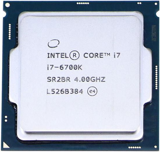 INTEL CORE I7 6700K (8 MB ქეშ მეხსიერება, 4 GHZ) TRAY