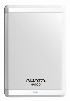 ADATA HV100 HDD USB 3.0 1 TB WHITE (AHV100-1TU3-CWH)