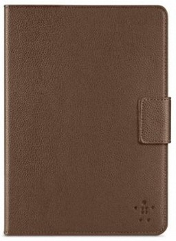 BELKIN IPAD MINI LEATHER BOOK COVER BROWN F7N018VFC01