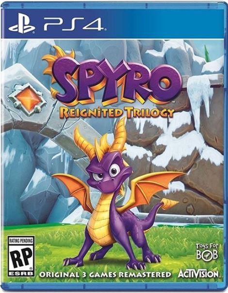 კონსოლის თამაში SPYRO REIGNITED TRILOGY (PLAYSTATION4)