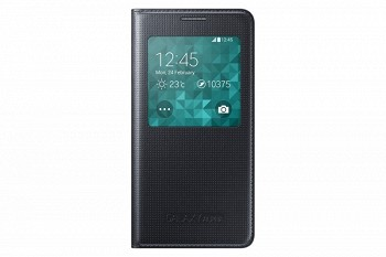 SAMSUNG GALAXY ALPHA S VIEW COVER BLACK (EF-CG850BBEGRU)