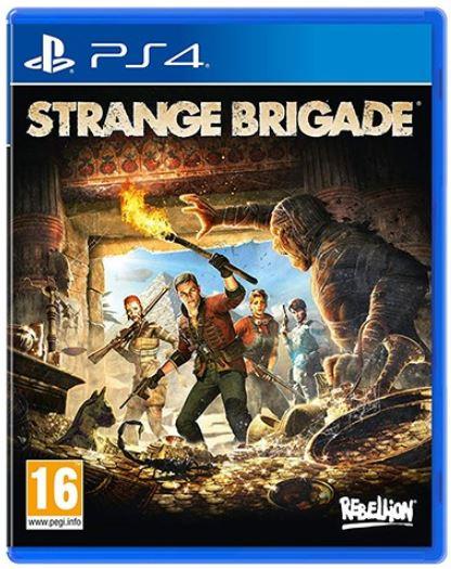 კონსოლის თამაში STRANGE BRIGADE (PLAYSTATION4)
