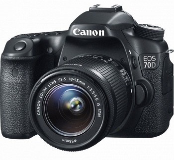 CANON  EOS 70D EF-S 18-55 IS STM BLACK