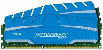 CRUCIAL BALLISTIX SPORT XT 16GB (2 X 8GB) DDR3 1866MHZ (BLS2C8G3D18ADS3CEU)