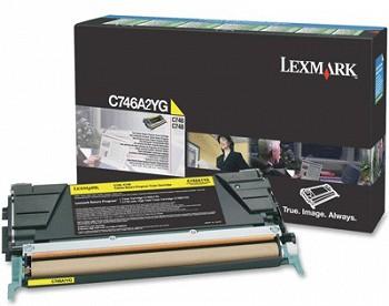 LEXMARK YELLOW C746A3YG