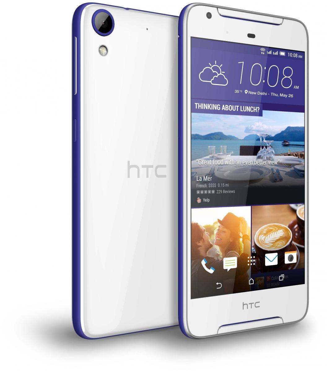 HTC DESIRE 628 32GB DUAL SIM LTE  COBALT WHITE