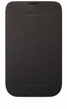 SAMSUNG GALAXY NOTE II LEATHER POUCH BROWN