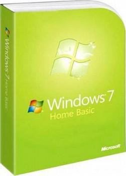 MICROSOFT WINDOWS 7 SP1 HOME BASIC 64BIT EN-CIS, GEO 1PK (F2C-01105)