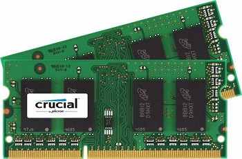 CRUCIAL 4GB (2x2GB) DDR3 1600MHz  (CT2CP25664BF160B)