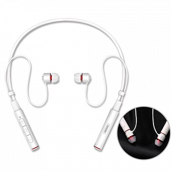 REMAX NECKBAND BLUETOOTH EARPHONE RB-S6 WHITE