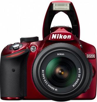 NIKON D3200 18-55 KIT RED