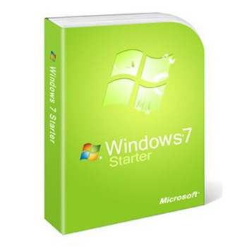 MICROSOFT WINDOWS 7 STARTER SP1 32BIT EN-CIS, GEO 1PK (GJC-00597)