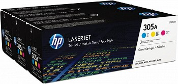 HP 305A TRI PACK (CF370AM)