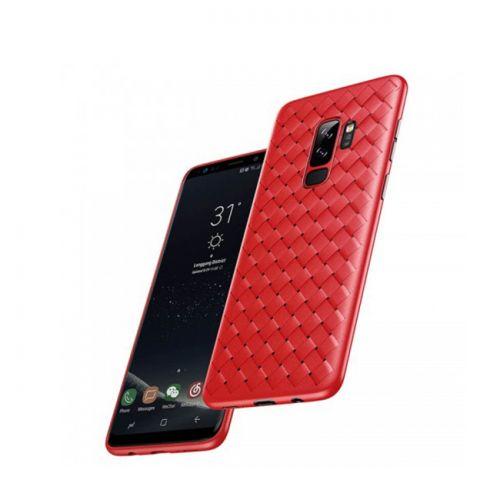 მობილურის ჩასადები BASEUS BV WEAVING CASE FOR SAMSUNG GALAXY S9 G960 (WISAS9-BV09) RED