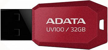 ADATA CLASSIC UV100 32GB RED USB 2.0 (AUV100-32G-RRD)