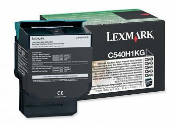 LEXMARK C54X, X54X C540H1KG BLACK