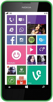 NOKIA LUMIA 630 DUAL 8GB GREEN