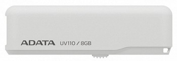 ADATA DASHDRIVE UV110 8GB WHITE