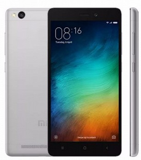XIAOMI REDMI 3S DUAL SIM 16GB LTE BLACK/GREY